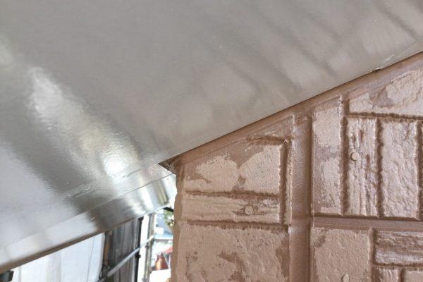 ひたちなか市、シーリング工事、屋根塗装工事、外壁多彩模様塗装ありがとうございました。