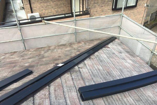 石岡市F様邸 コロニアル屋根塗装、屋根の棟板金交換工事ありがとうございました!