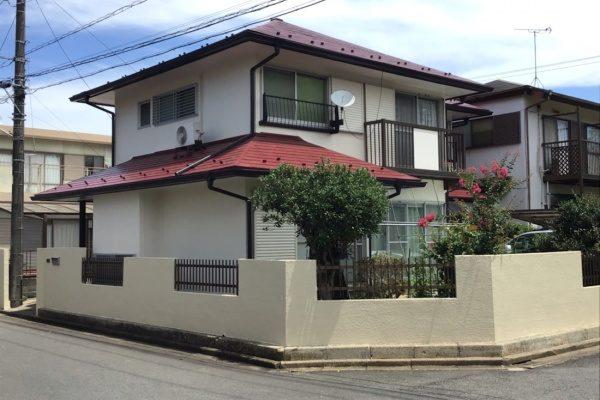 水戸市 外壁塗装 屋根塗装 工事 Y様邸 ラジカルシリコン塗装ありがとうございました。